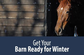 Get Your Barn Ready for Winter
