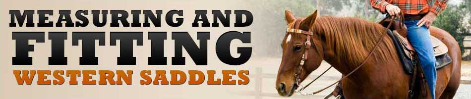 Measuring And Fitting A Western Saddle - Horse com