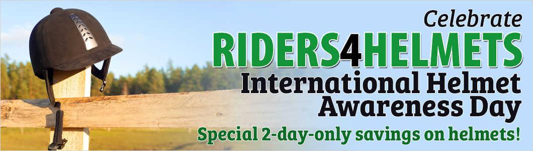 International Helmet Awareness Day Horse Com