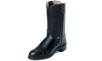 Justin® Mens Farm/Ranch Roper Boots