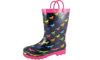 Smoky Mountain Childs Ponies Rubber Boots