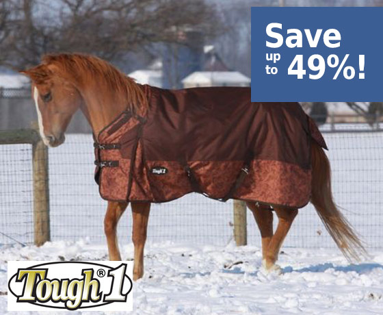 Tough-1® 1200D Snuggit Turnout Blanket! - Save up to 49%