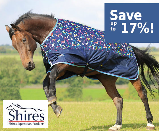 Shires® Tempest Plus 1200D Turnout Blanket - Save up to 17%