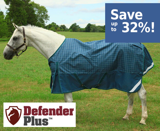 Defender Plus™ 1200D Turnout Blanket - Save up to 32%