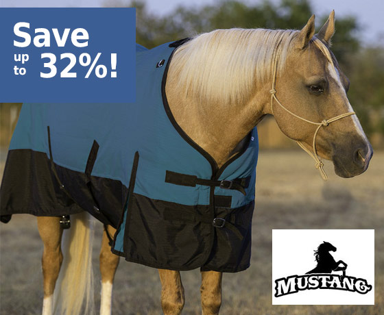Mustang 1200D Turnout Blanket - Save up to 32%