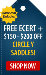 Horse.com Exclusive $150 - $200 Off Circle Y Saddles!