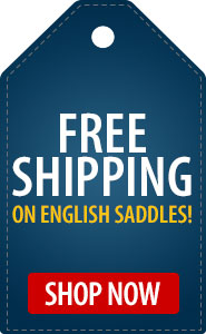 Free Shipping on English Saddles!