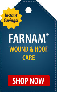 Instant Savings on Farnam Hoof Care Medications!