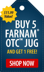 Buy 5 Farnam OTC and Get 1 FREE!