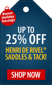 Bonus Holiday Savings Up to 25% Off Henri de Rivel!