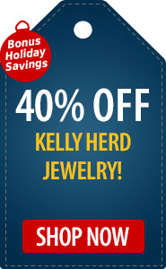 Bonus Holiday Savings 40% Off Kelly Herd Jewelry
