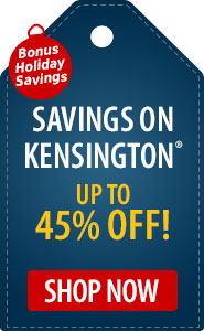 Exclusive Savings on Kensington Up to 45% Off!