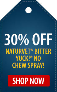 30% Off NaturVet Bitter YUCK! No Chew Spray!