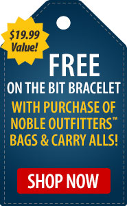 FREE On the Bit Bracelet with Purchase of Noble Outfitters Bags & Carry Alls!