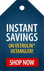 Instant Savings on Vetrolin Detangler!