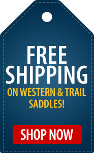 FREE Shipping on Western & Trail Saddles!