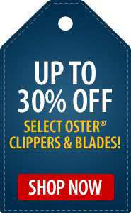 Up to 30% Off Select Oster Clippers & Blades!