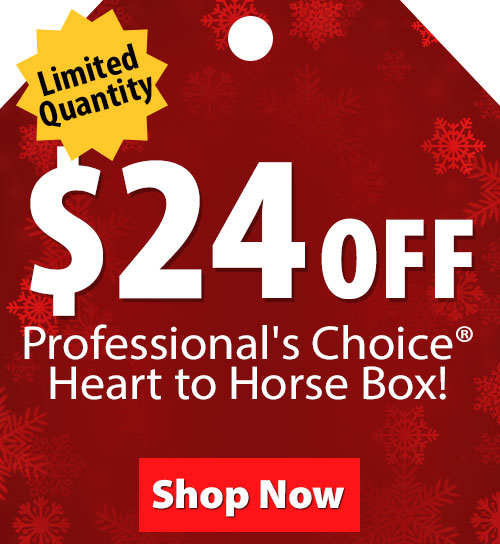 $24 Off Professionals Choice Heart to Horse Box