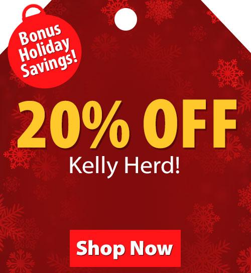 20% Off Kelly Herd Jewelry!
