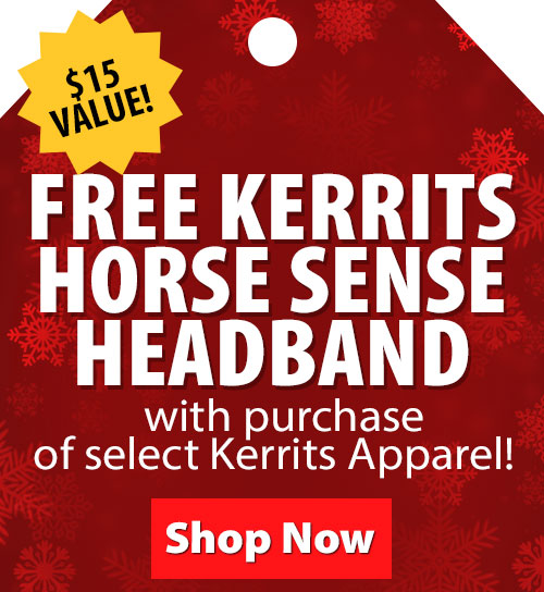$15 Value! FREE Kerrits Horse Sense Headband with purchase of select Kerrits Apparel!