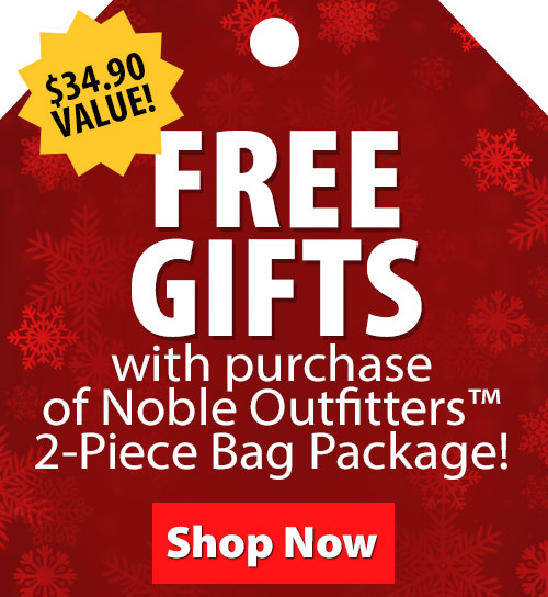 FREE Gifts with purchase of Noble Outfitters 2-Piece Bag Package!