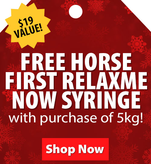 Free Horse First HeavySweat Now syringe with 5kg size purchase! $16 Value!