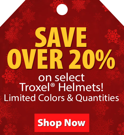 Save over 20% on Select Troxel Helmets