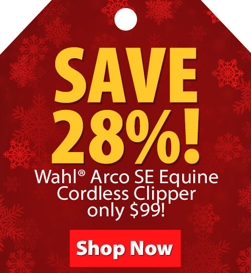 Wahl Arco SE Equine Cordless Clipper only $99!