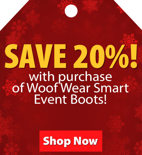 $10 Value! FREE Bamboo Riding Socks with purchase of Woof Wear Smart Event Boots!