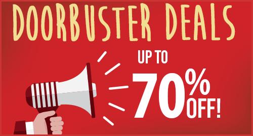 Shop Door-buster Deals!