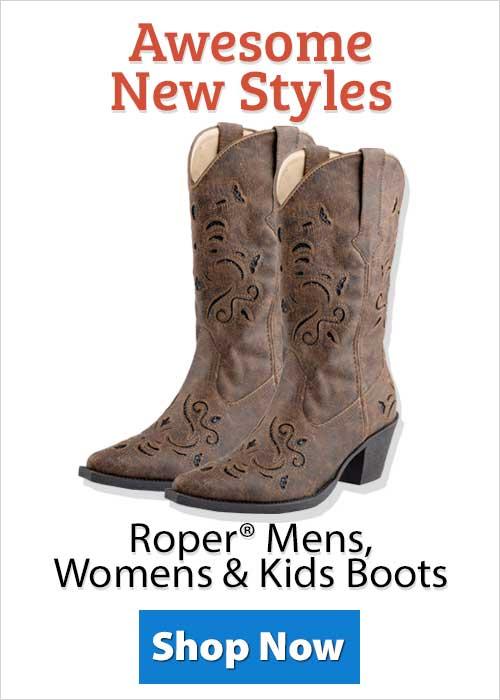 Shop Roper® Mens, Womens & Kids Boots!