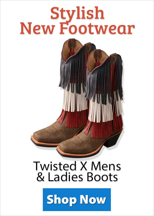 Shop Twisted X Mens & Ladies Boots!