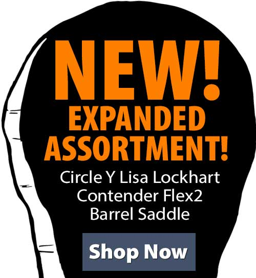 Shop Circle Y Lisa Lockhart Contender Flex2 Barrel Saddle!
