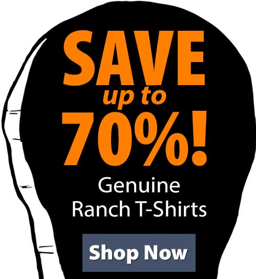 Shop SGenuine Ranch T-Shirts!
