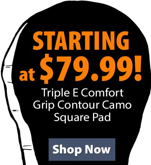 Shop Triple E Comfort Grip Contour Camo Square Pad!