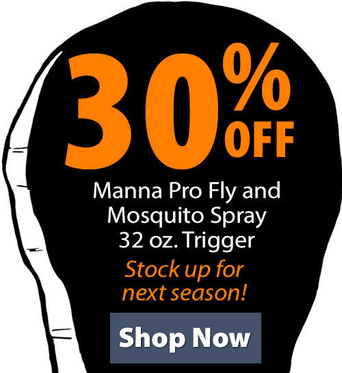 Shop Manna Pro Fly and Mosquito Spray 32 oz. Trigger!