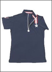 Equine Couture™ Stars & Stripes Child's Short Sleeve Polo